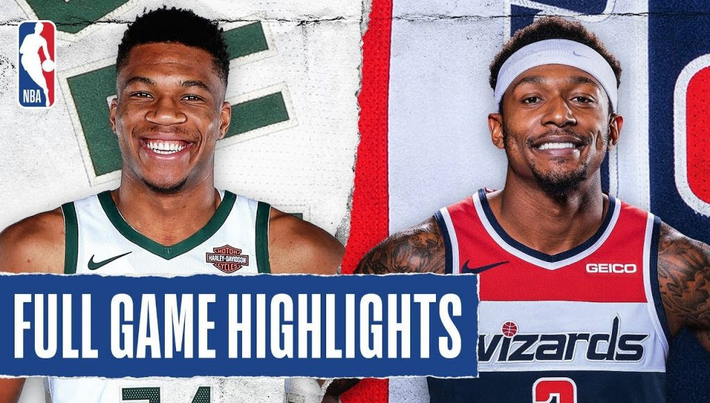 BUCKS at WIZARDS | FULL GAME HIGHLIGHTS | February 24, 2020