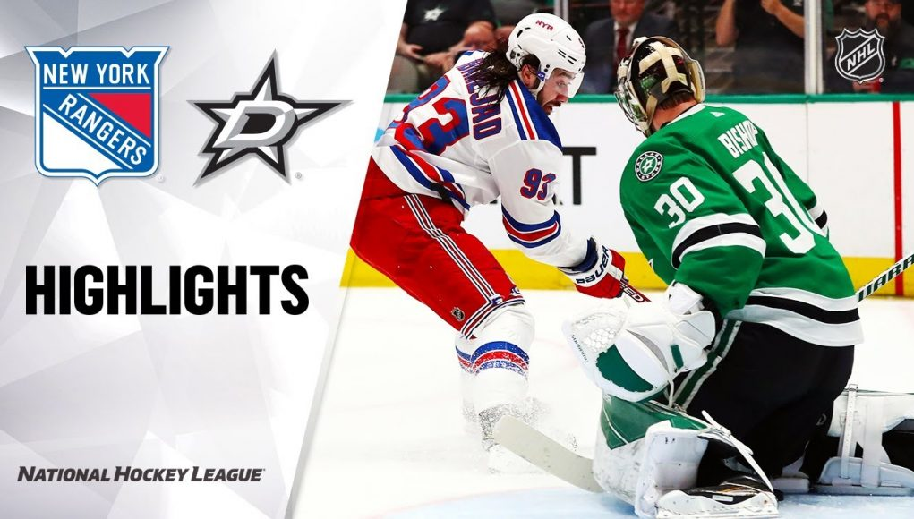 NHL Highlights | Rangers @ Stars 3/10/20