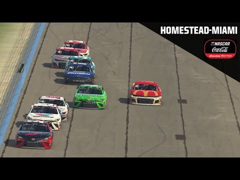 eNASCAR Coca-Cola iRacing Series from Homestead-Miami Speedway