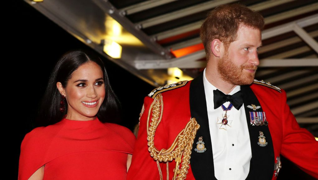 to Get Meghan Markle's Red Cape Dress Look from Her Mountbatten Festival of Music Attendance