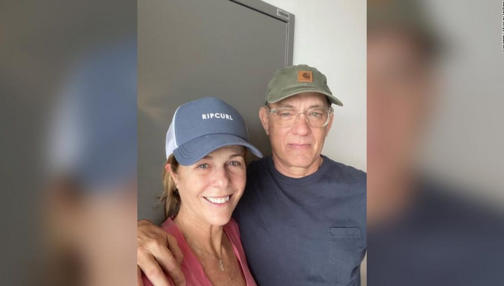 Tom Hanks reminds us that coronavirus, too, shall pass as he and Rita Wilson are feeling better
