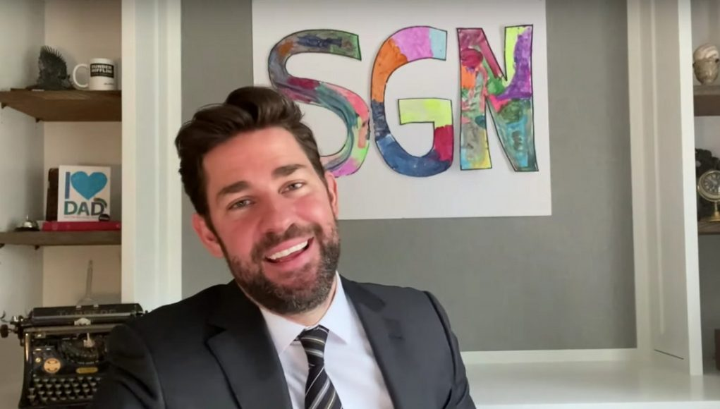 John Krasinski Is Coming to You Live With Some Good News From His New YouTube Show