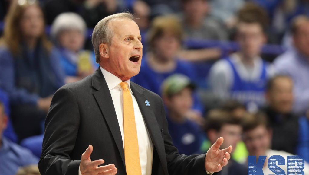 Rick Barnes believes Kentucky and Kansas are the two best teams in college basketball