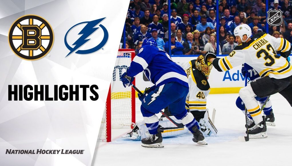 NHL Highlights | Bruins @ Lightning 3/3/20
