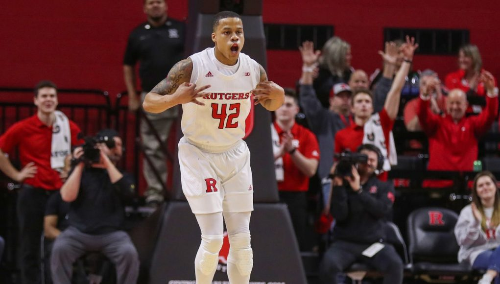 Rutgers upsets No. 9 Maryland; Did Scarlet Knights just clinch return to NCAA Tournament?