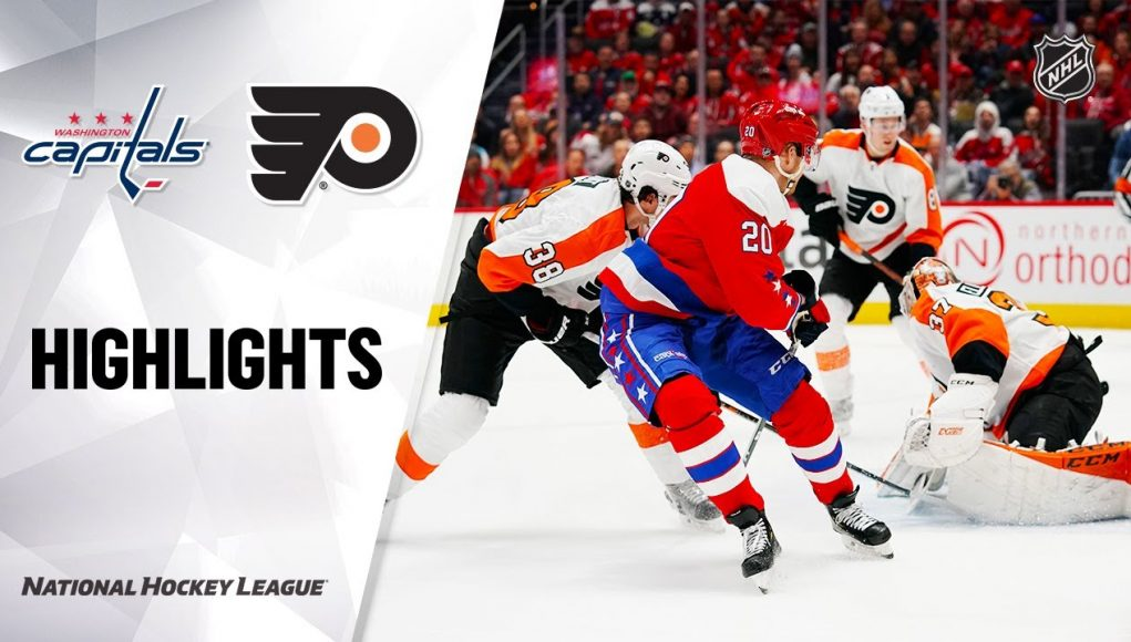NHL Highlights | Flyers @ Capitals 3/4/20