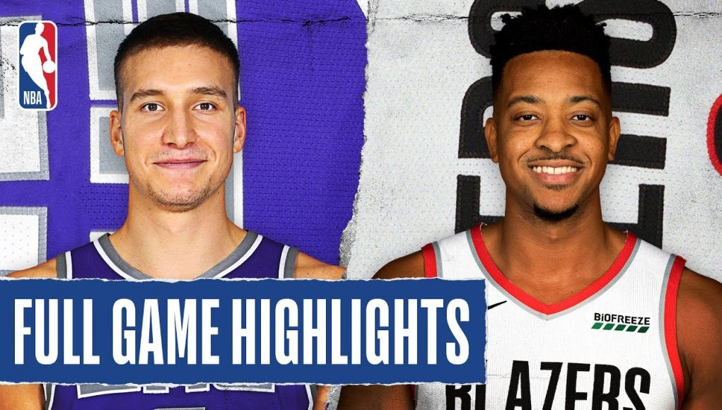 KINGS at BLAZERS   FULL GAME HIGHLIGHTS   March 7, 2020