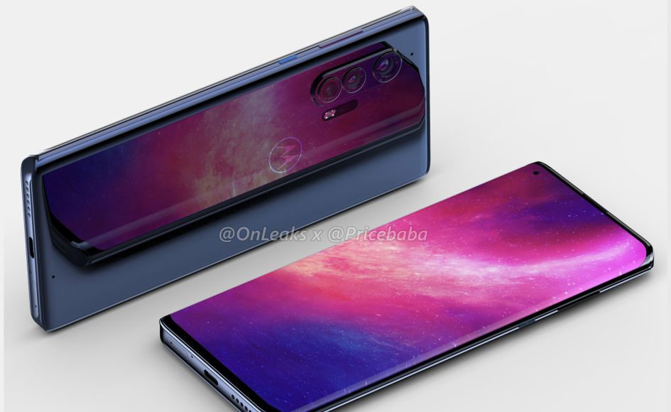 Motorola's first high-end phone in years may have a 'bezel-free' display