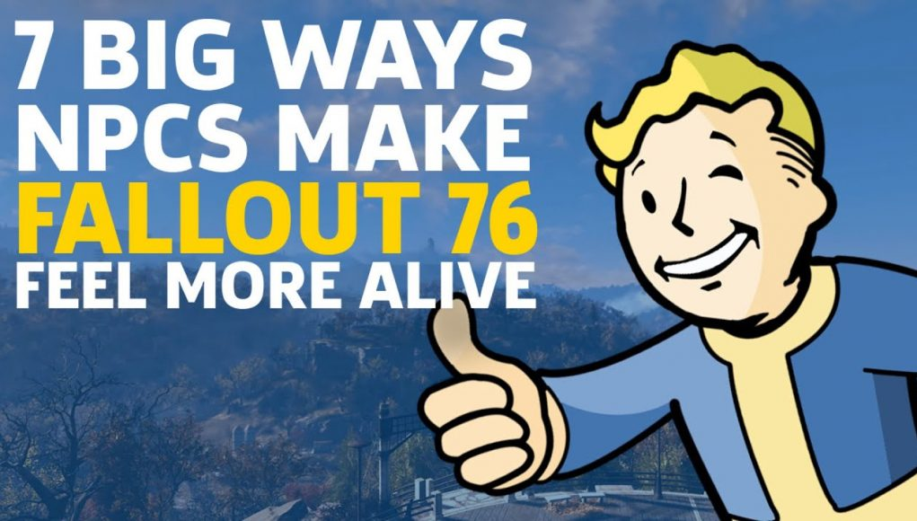7 Big Ways NPCs Make Fallout 76 Feel More Alive