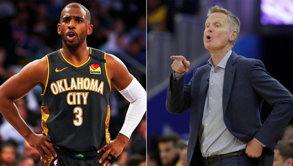CP3 hilariously explains why he fake laughed at Kerr joke