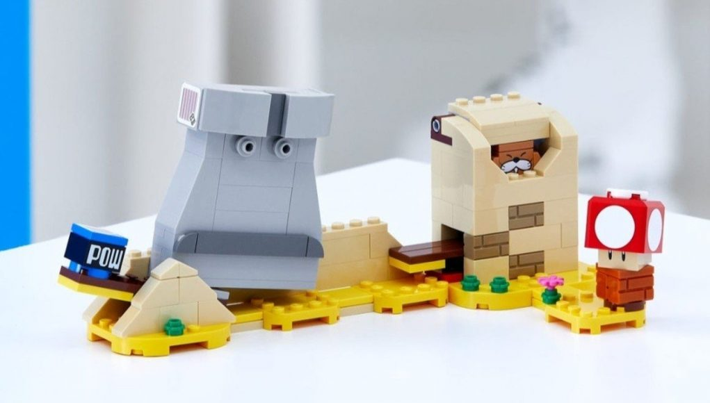 Here's Your First Look At The LEGO Super Mario Monty Mole And Super Mushroom Expansion Set
