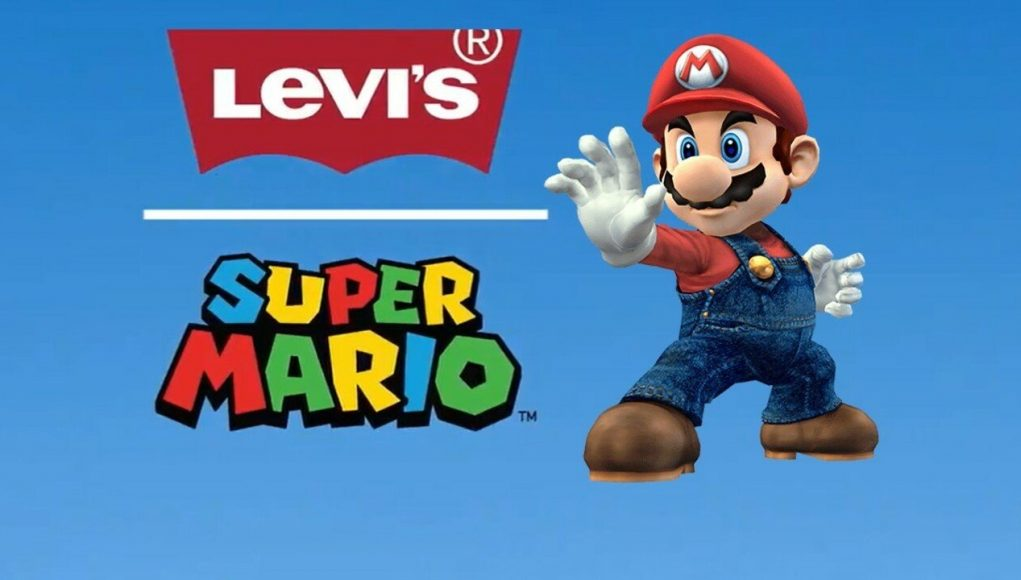 Super Mario And Levi's Join Forces For A Mushroom Kingdom Clothing Collaboration