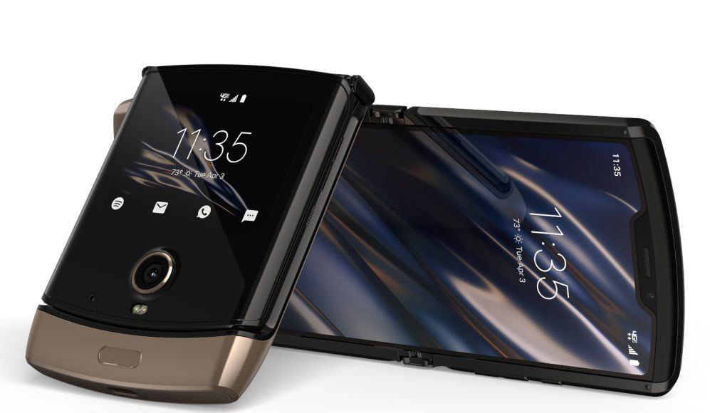 Motorola's Razr is still $1500 but now you can get it in 'blush gold'
