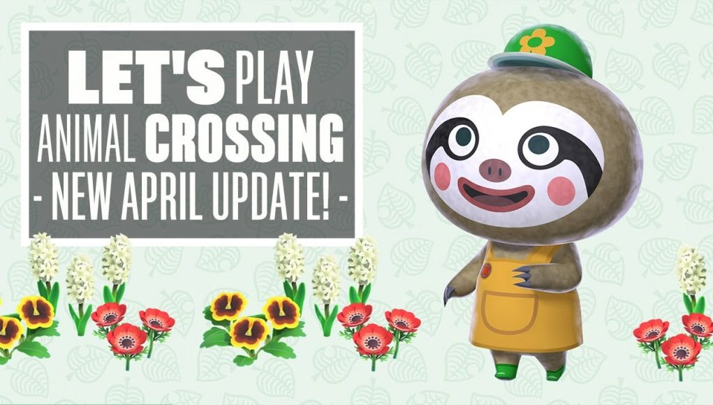 Let's Play Animal Crossing New Horizons April Update