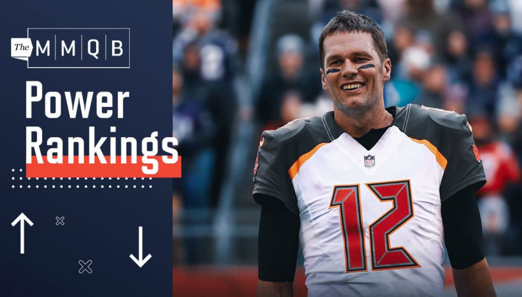 NFL Power Rankings Poll: Buccaneers Rise, Patriots and Texans Fall in Offseason Edition