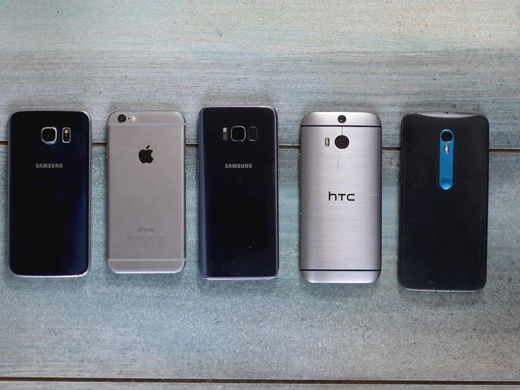 Here's what $650 buys you in used phones on eBay