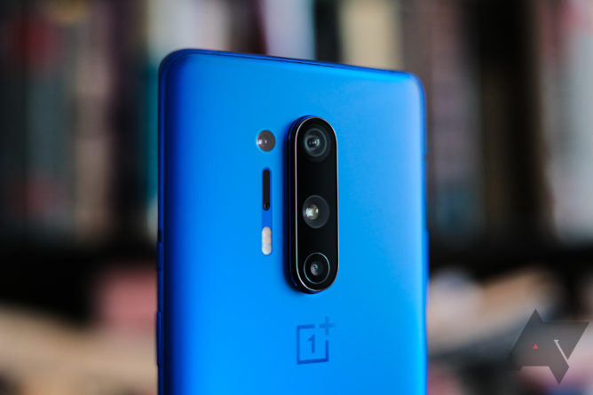 OnePlus 8 Pro's color filter camera makes thin plastics and other materials transparent