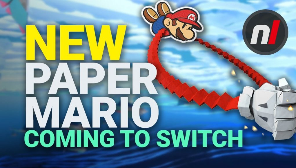NEW Paper Mario Game Coming to Nintendo Switch