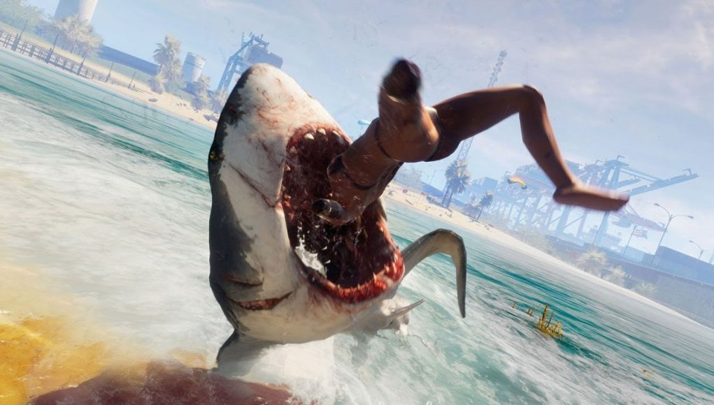 Eat The Rich As A Shark in Maneater