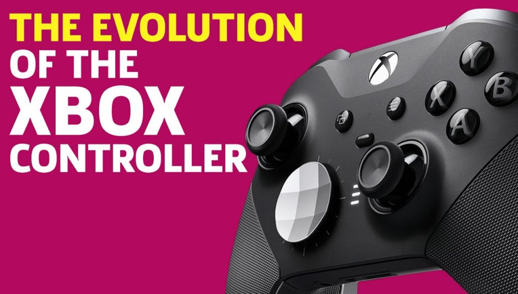 The Evolution of the Xbox Controller