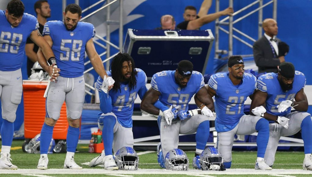 Here's what Detroit Lions players are saying about protests, George Floyd