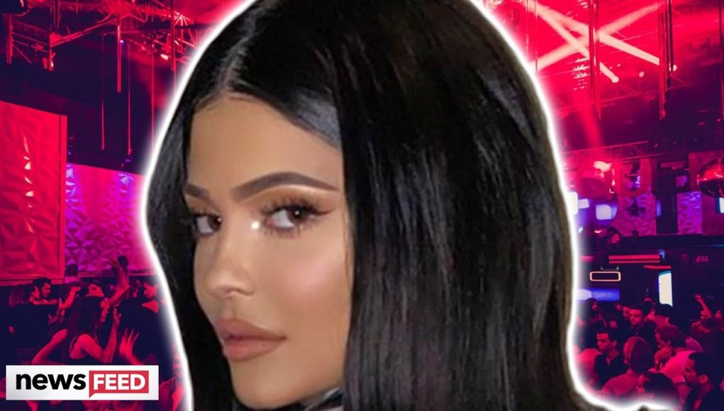 Kylie Jenner DITCHES Social Distancing For Partying!