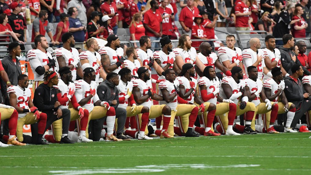 Poll finds most Americans OK with players kneeling