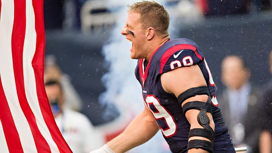 J.J. Watt makes his position on kneeling and the flag crystal clear