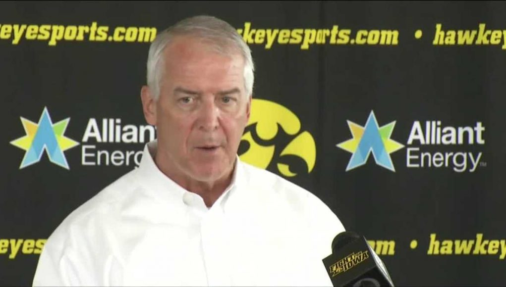University of Iowa reaches separation agreement with strength coach Chris Doyle