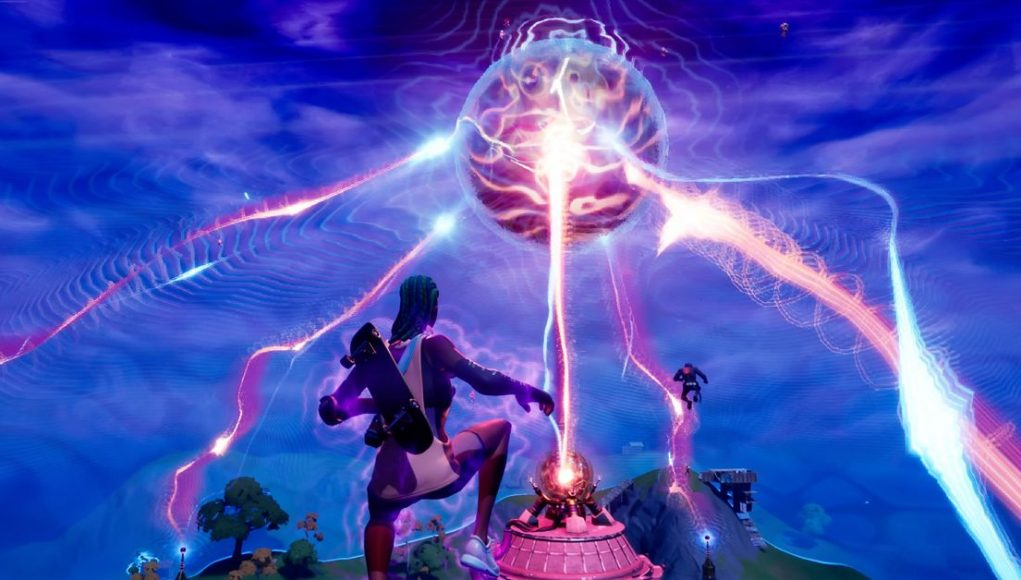 Fortnite's 'device' event blew up The Agency and turned the storm into water