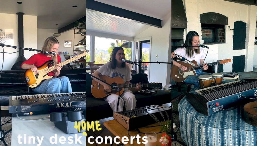 HAIM: Tiny Desk (Home) Concerts