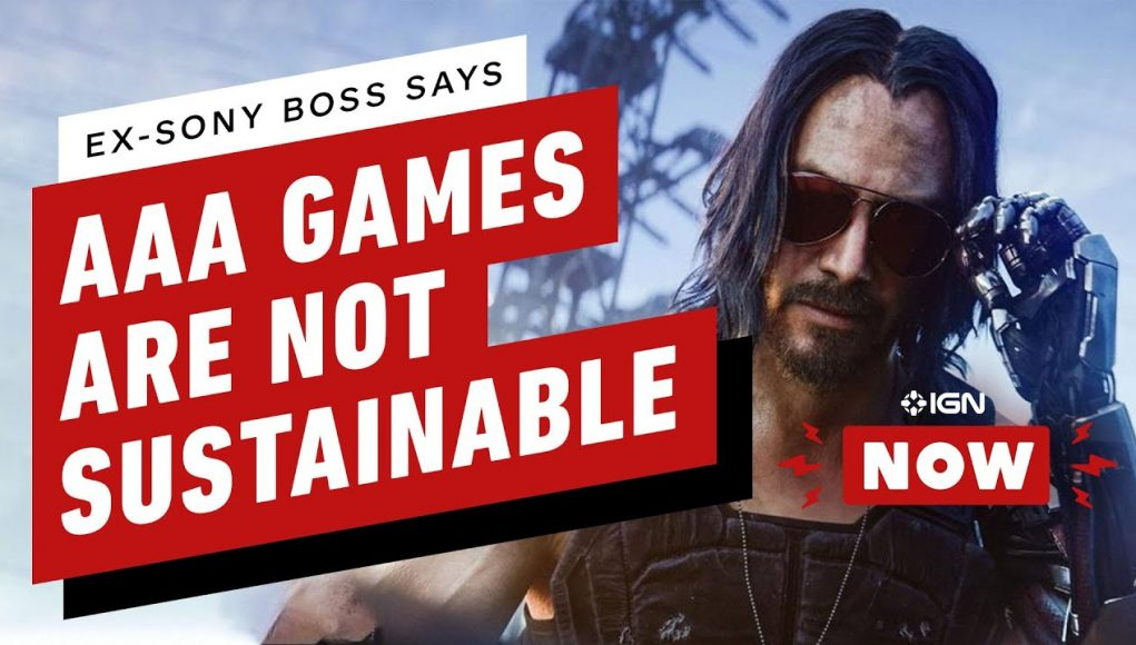 Ex-Sony Boss Says AAA Game Development is 'Unsustainable'