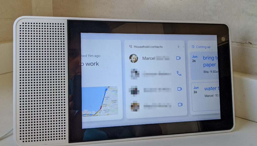 Household contacts are rolling out to Google Assistant speakers and smart displays