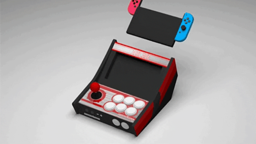 Switch Fighter claims its crowdfunded dock turns the Nintendo Switch into a mobile mini-arcade