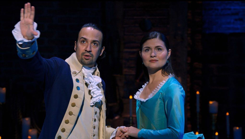 Hamilton on Disney Plus gets you 'best seat in the house,' Lin-Manuel Miranda says