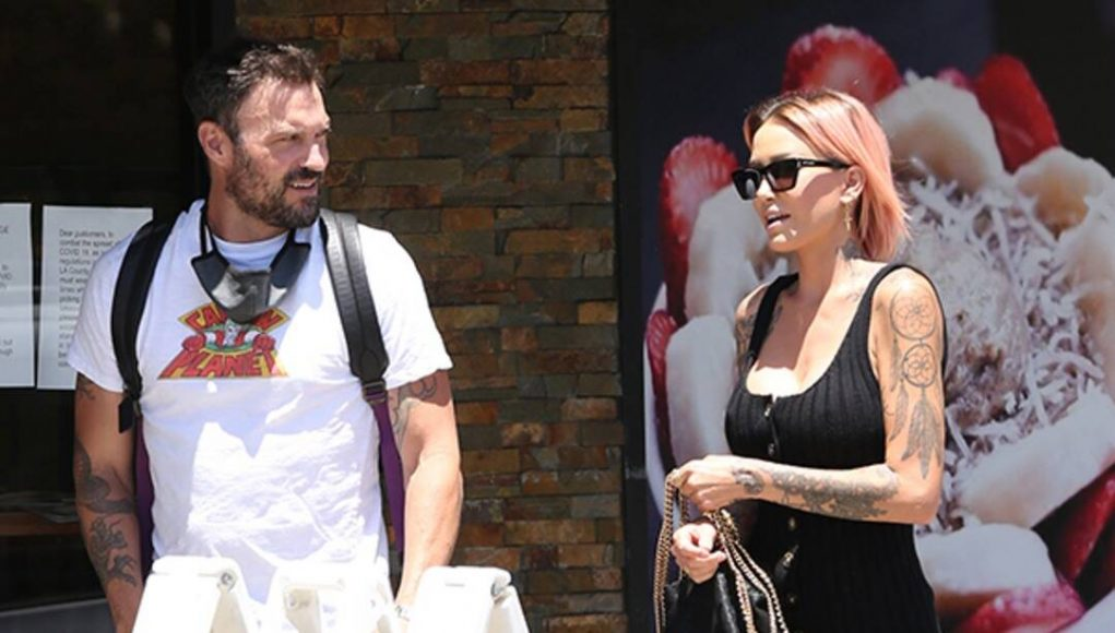 Brian Austin Green Spends Time With Model Tina Louise, Courtney Stodden After Megan Fox Breakup