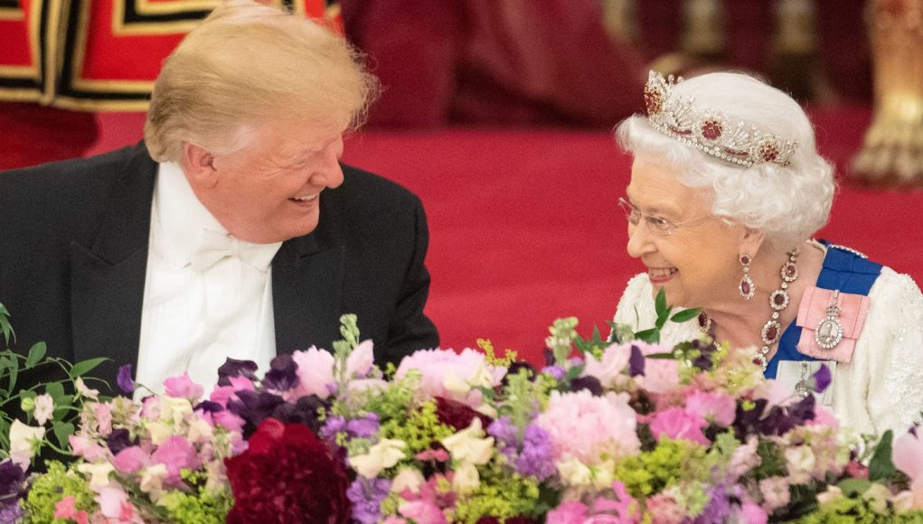 President Trump has a chummy July 4 chat with the queen as his calls to world leaders come under fire
