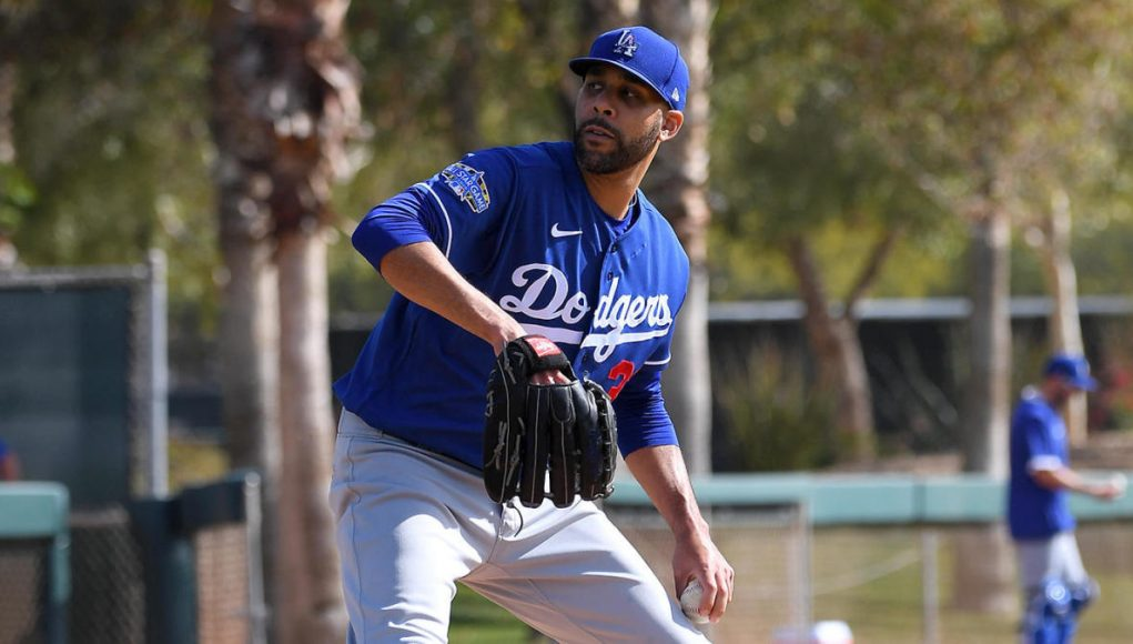 Dodgers' David Price announces on social media he's opting out of 2020 MLB season