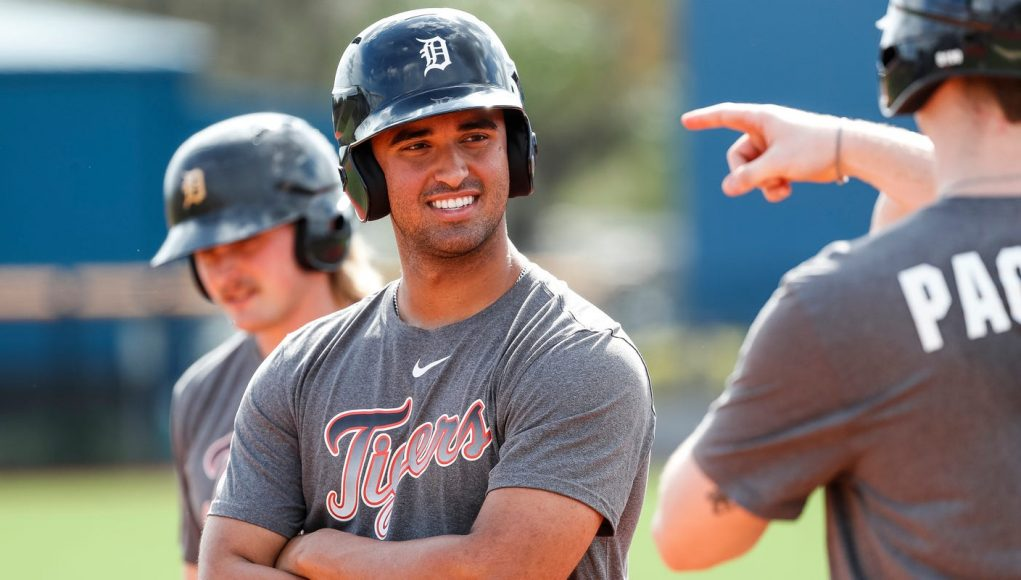 Detroit Tigers' Riley Greene reminds that Torkelson isn't the only hitting talent