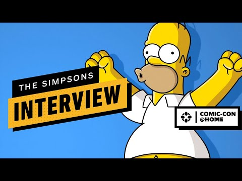 Simpsons Producers On How The Show Continues To Predict The Future   Comic Con 2020