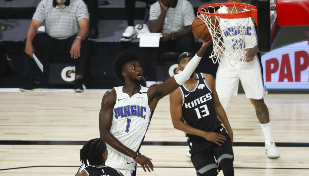 Magic F Jonathan Isaac wheeled off court after brutal knee injury against Kings
