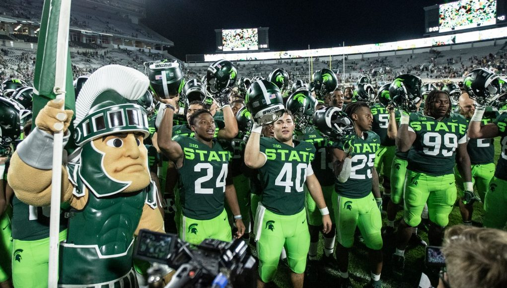 Michigan State football forced to play in Ann Arbor in reworked Big Ten schedule