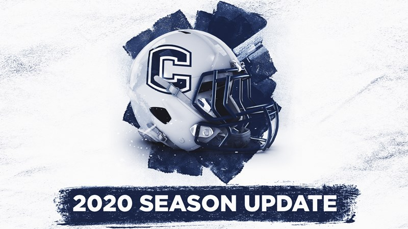 UConn Football Announces Cancellation of 2020 Season Due to Risks Associated With COVID-19