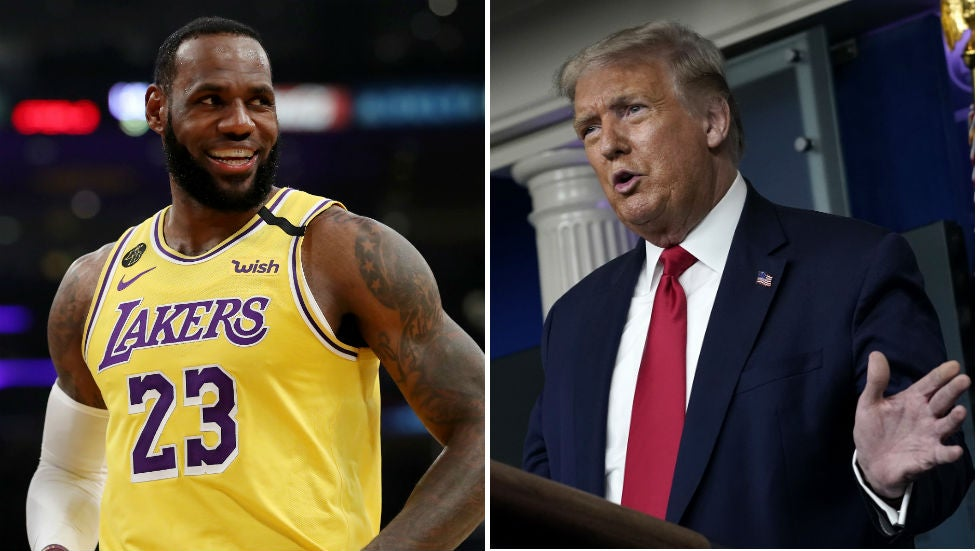 LeBron James on the NBA losing Trump as a viewer: 'We could care less' | TheHill