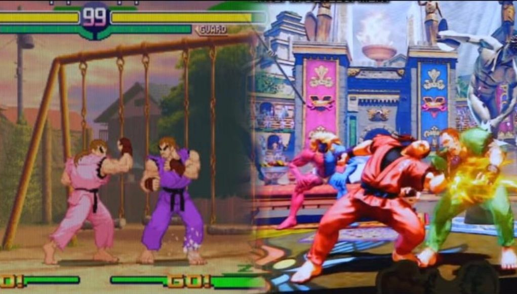 Dan's Street Fighter 5: Champion Edition development footage compared to Street Fighter 4 and Street Fighter Alpha by HiFight