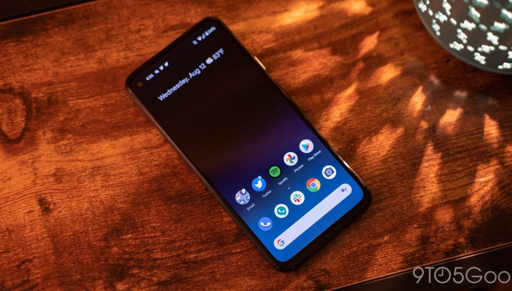 Google Pixel 4a comes w/ 'Eclipse' live wallpaper that puts battery life front and center