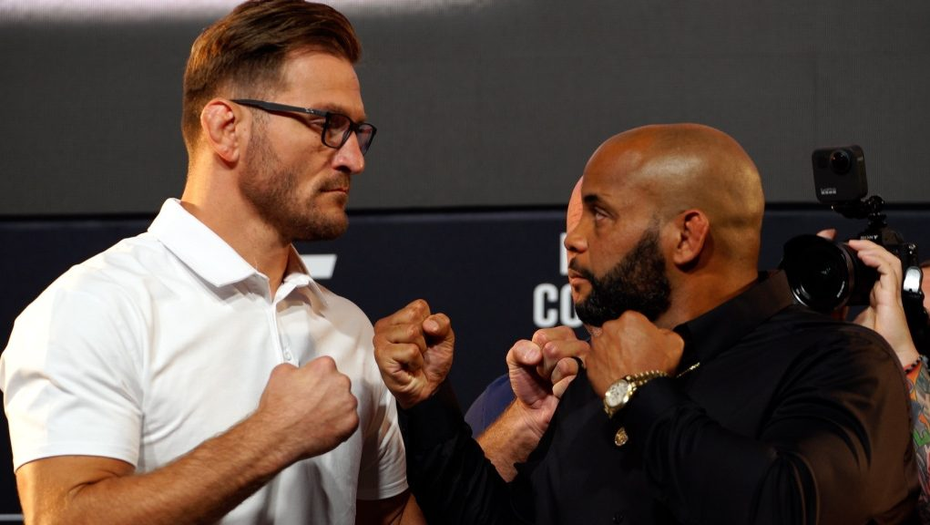 UFC 252 video: Stipe Miocic, Daniel Cormier face off for first time before trilogy bout