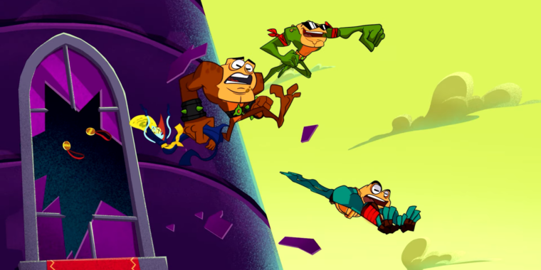 Battletoads game review: Good moments don't save the toad-al package