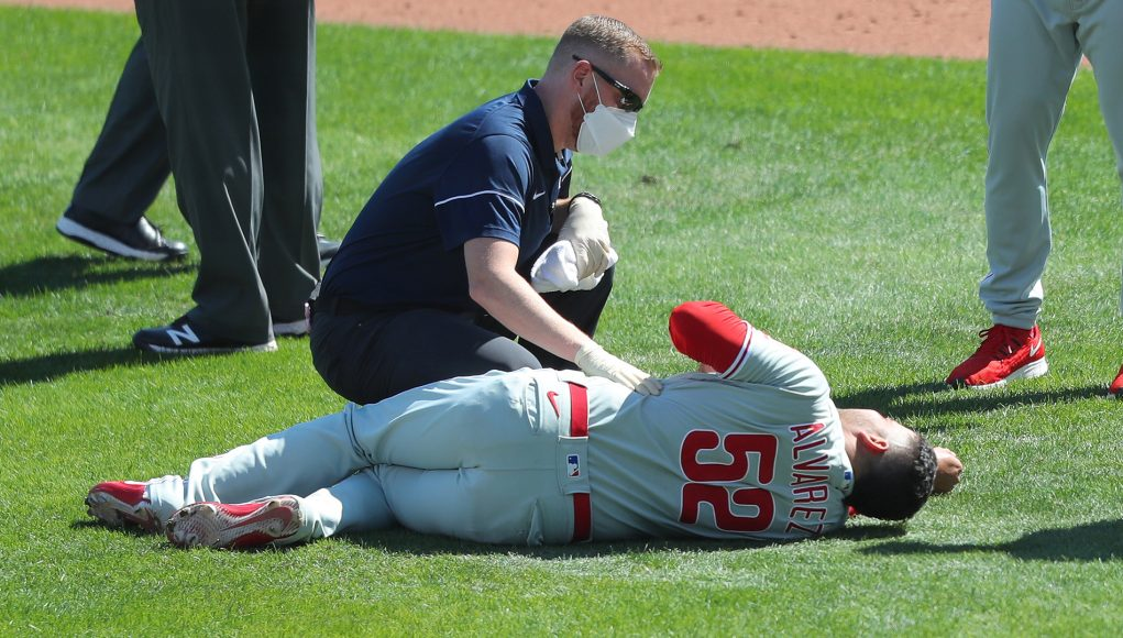 Phillies will be without their most reliable reliever for at least a little while