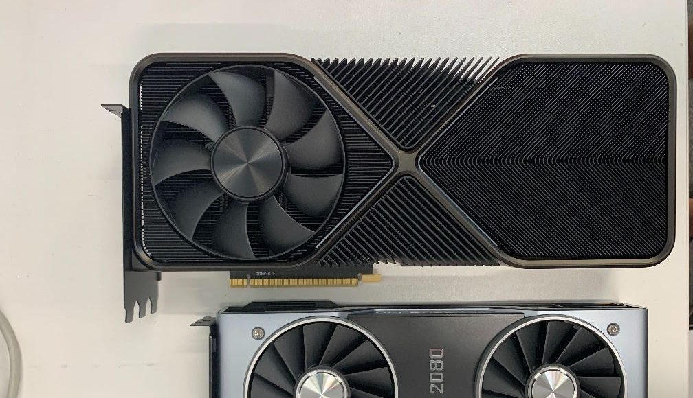 NVIDIA GeForce RTX 3090 Flagship Ampere Gaming Graphics Card Pictured, Massive Triple-Slot Founders Edition Cooling Design With $1400 US Price